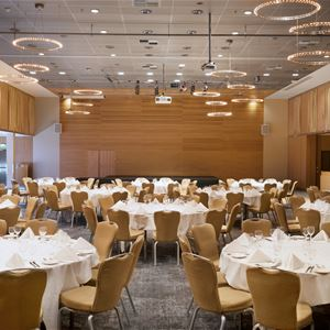 © radisson blu, a room fully decorated for an event