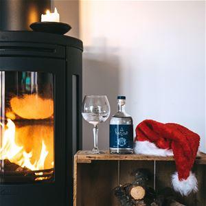 Jultallrik hos Hernö Gin