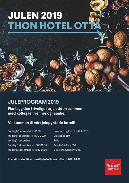 Jul på Thon Hotel Otta
