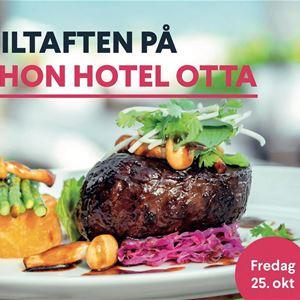 Viltaften på Thon Hotel Otta
