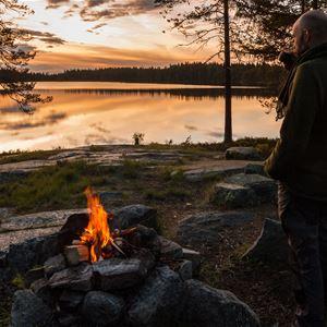 Grillkväll i Finnmarken