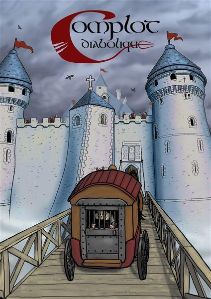 """Enquête """"Le complot Diabolique"""" au château Robert le diable, samedi 11 avril"""