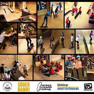 Conny Björklund,  © Söderhamns Skateboardförening, Söderhamns Skateboardförening Nybörjarskate Skateskola Juniorskate skatecamp skateläger