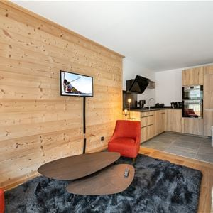 3 rooms 6 people / CHANTEMERLE 103 (Moutain of charm)