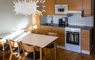Ski Lodge-lägenhet 215, 6 bäddar, Hamrafjället