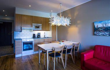 Ski Lodge-lägenhet 203 handikapp, 6 bäddar, djurtillåten, Hamrafjället