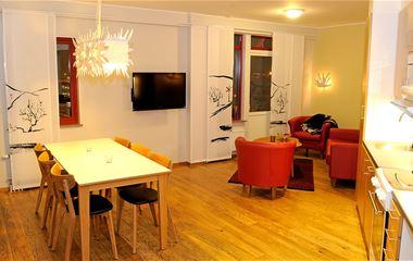 Ski Lodge-lägenhet 202, 6 bäddar, Hamrafjället