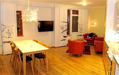Ski Lodge-lägenhet 403, 6 bäddar, Hamrafjället