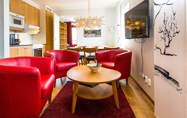Ski Lodge-lägenhet 402, 4 bäddar, Hamrafjället