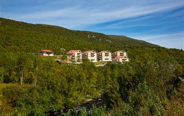 Rosa byn D12, 4+1 bäddar, djurtillåten, Hamrafjället