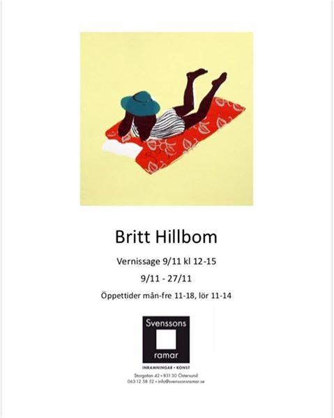 © Copy: https://www.facebook.com/svenssonsramar/, Utställning- Britt Hillbom