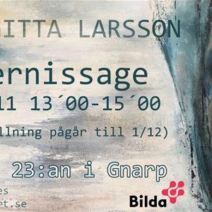 Birgitta Larsson, Jättendal,  © Birgitta Larsson, Jättendal, vernissage, utställning, birgitta larsson, gnarp, cafe 23:an
