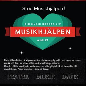 © Copy. Folkuniversitetet Östersund, Event för äkta människovärde- Musikhjälpen
