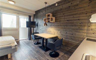 Ski Apartments med fjällutsikt