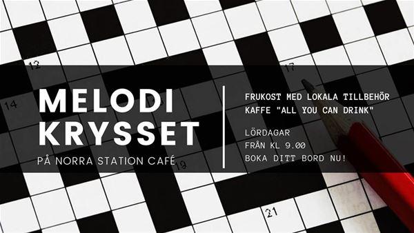 © Copy: Norra Station, Melodikrysset på Norra Station Café