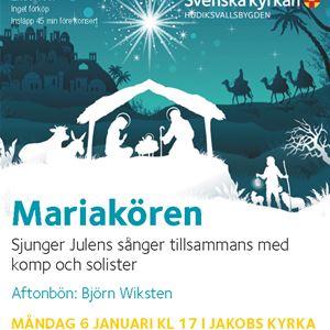 Julens sånger  i Jakobs kyrka