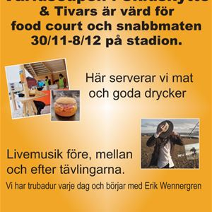 © Copy: Tivars, Tivars Food Court under världscupen i skidskytte