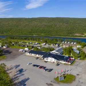 Hotellrom på Tana Hotell & camping