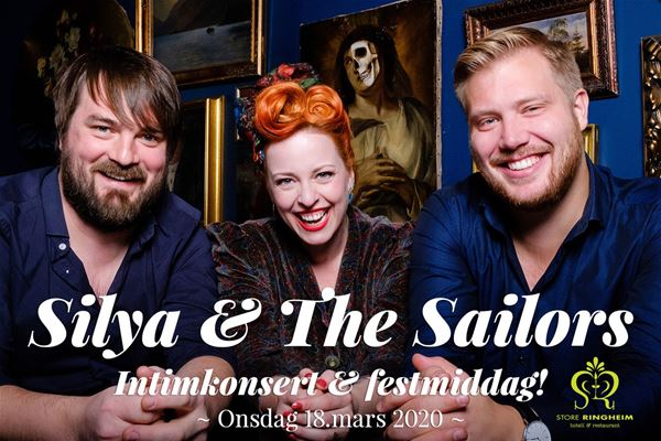 Silya and the Sailors - Intimkonsert og Festmiddag