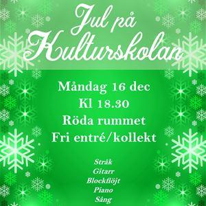 Jul på Kulturskolan