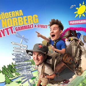 Bröderna Norberg på turné - Nytt gammalt och stulet