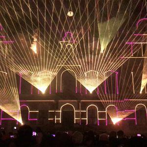 Lasershow - Nyårsdagen