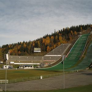Concert at the ski jump arena Lillehammer