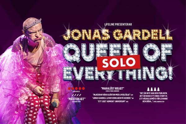 Jonas Gardell Queen of f*cking everything- solo