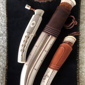 Utställning 37 slöjdare - 81 knivar