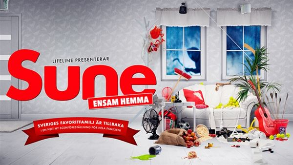 Family performance - Alone at home with Sune