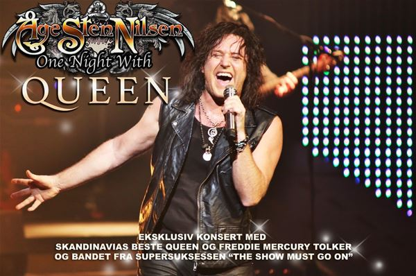 """AVLYST - Åge Sten Nilsen - """"One Night with Queen"""""""