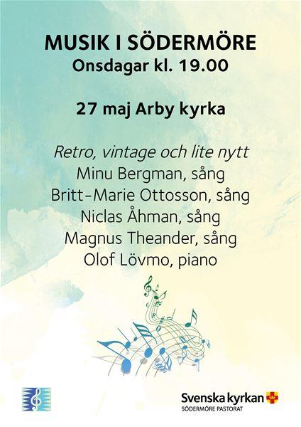 MUSIK I SÖDERMÖRE - Retro, vintage och lite nytt (streamas)