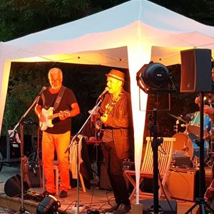 Alvin Thomas Blues band