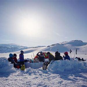 Easter ski tour