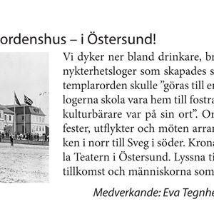 After Work-föredrag: Världens största ordenshus- i Östersund!