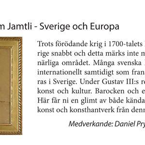 After Work-föredrag: Nationalmuseum Jamtli - Sverige och Europa