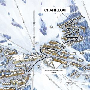 4 pièces 7 personnes / CHANTELOUP 3B (Montagne de Charme) / Séjour Sérénité