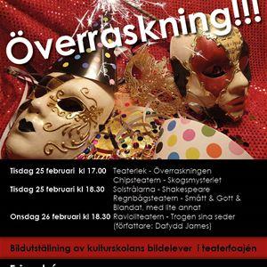 Kulturskolans Teaterfestival - Överraskning!!!