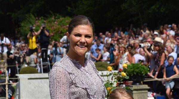 Kronprinsessans födelsedag på Sollidens Slott