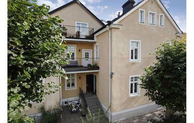 Uppsala - Historisk 3 rök central Uppsala (Luthagen) - 7843