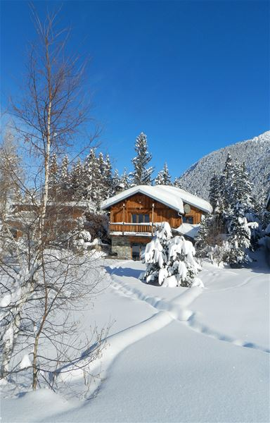 6 rooms 10 people ski-in ski-out / CHALET ARTEMESIA (mountain of exception) / Tranquility Booking