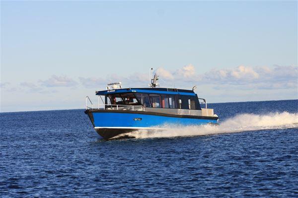 Skärgårdsupplevelse med båttur inklusive lunch och Paintballaktivitet