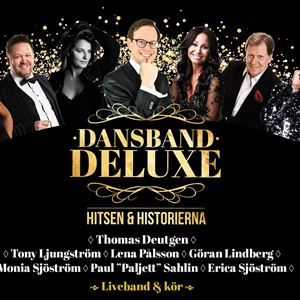 Affisch för Dansband Deluxe med artister