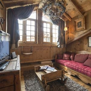 4 pièces duplex, 8/10 personnes / Apartment LE CHEVREUIL CHALET AYOUNGUILA (Montagne de rêve) / Séjour Sérénité