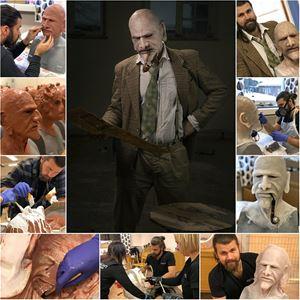10-dagarskurs i skapande av fantasifulla masker i silikon i Face Off-anda