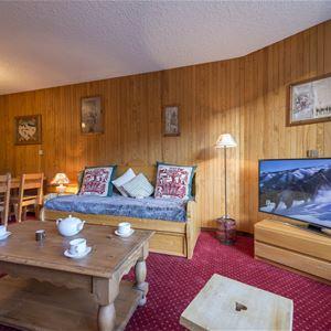2 pièces, 5 personnes skis aux pieds / Domaine du Jardin Alpin 104B (Montagne ) / Séjour Sérénité