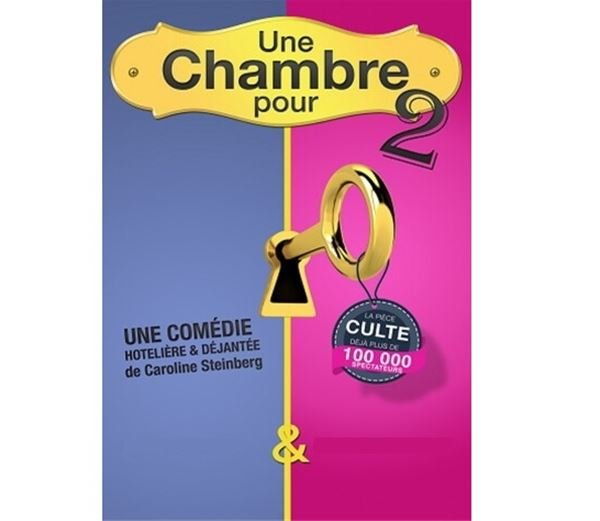 """Théâtre Le Point Comédie - """"Une chambre pour deux"""""""