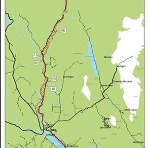 Lägerplatser i Älvdalens kommun
