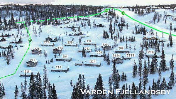 KVITFJELL - Varden Fjellandsby