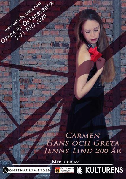 INSTÄLLT! Opera på Österbybruk - Jenny Lind
